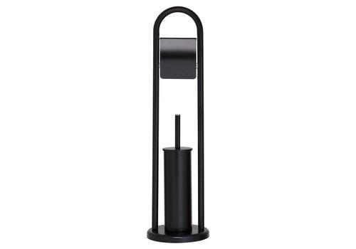 Sealskin toilet butler Acero metal black