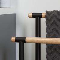 Sealskin handdoekrek Brix metaal zwart