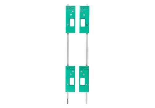 Intersteel Frässchablonenset für 4 Intersteel Blattscharniere 76x76 mm