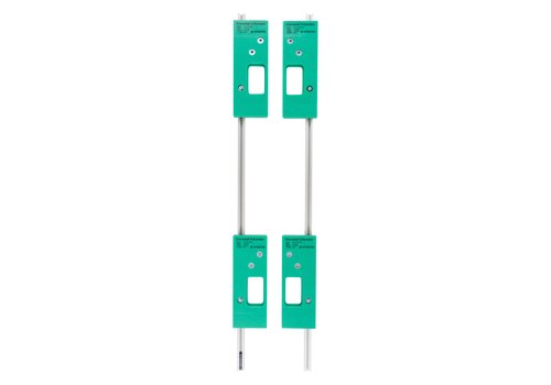 Intersteel Milling template set for 4 Intersteel leaf hinges 76x76 mm