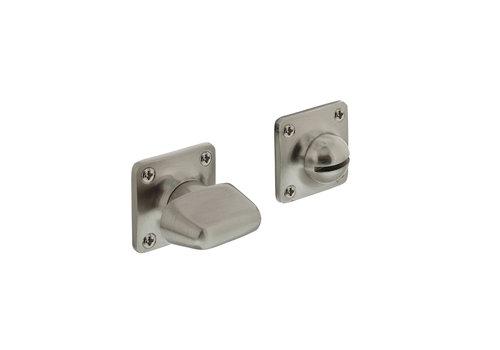 WC-sluiting 8mm vierkant basic nikkel mat