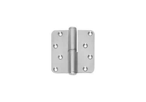 Charnière à rotule Intersteel Droite 89x89x3mm acier inoxydable brossé
