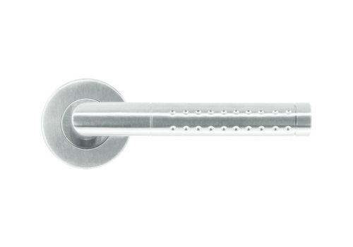 RVS deurklinken point shape zonder sleutelplaatjes