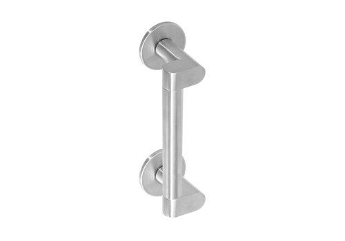 Stainless steel door handle Erik Munnikhof Dock Solid 250 mm brushed