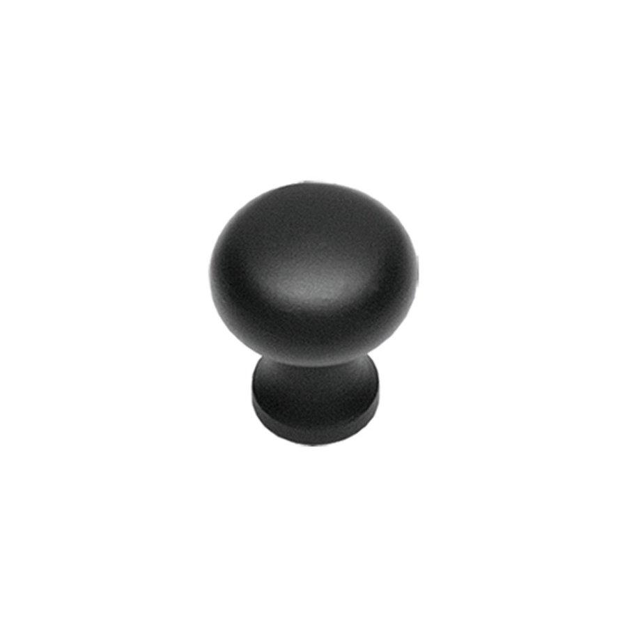 Intersteel Meubelknop ø 35 mm smeedijzer zwart