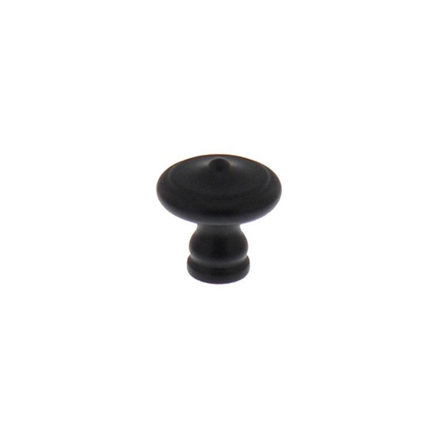 Intersteel Meubelknop ø 30 mm smeedijzer zwart