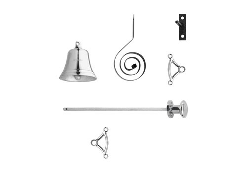 Garniture de cloche Intersteel Pull chrome