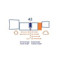 Bold smart cylinder SX43 - skg3 gekeurd  - veilig en gemakkelijk
