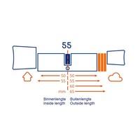 Bold smart cylinder SX55 - skg3 gekeurd  - veilig en gemakkelijk