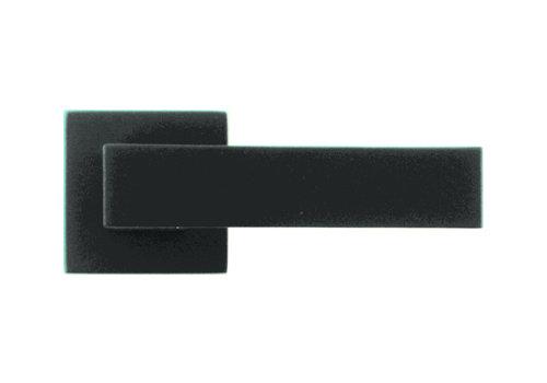 Poignées de porte noires Cubica No Key