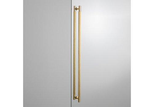 Pair of brass door handles Buster & Punch 774mm