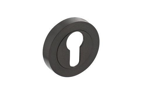 1 Intersteel Rosette with profile cylinder hole Ø52x10mm anthracite gray