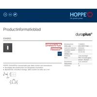 Hoppe Resista thin key plates square 2mm - Black satin F96