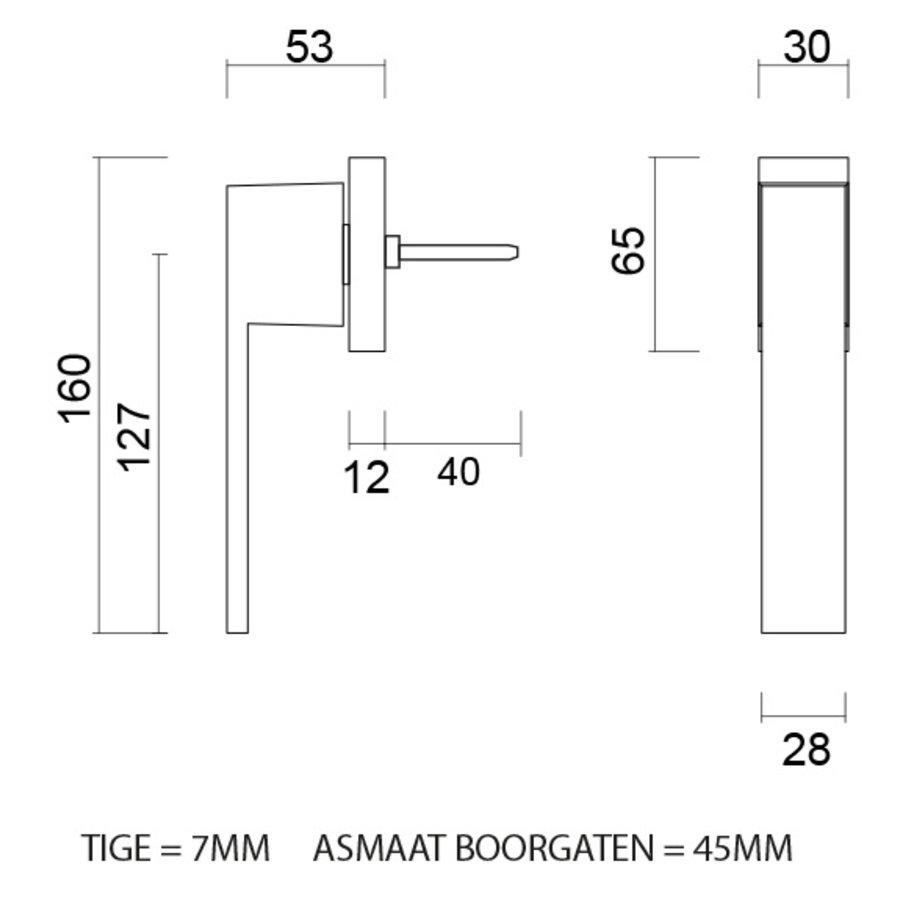 Raamkruk X-treme DK carbon