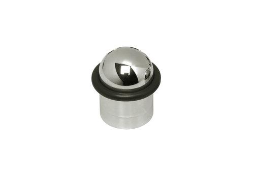 Intersteel Deurstop met ring nikkel