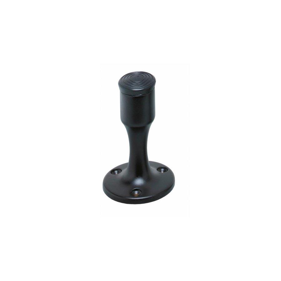 Intersteel Deurstop recht model mat zwart