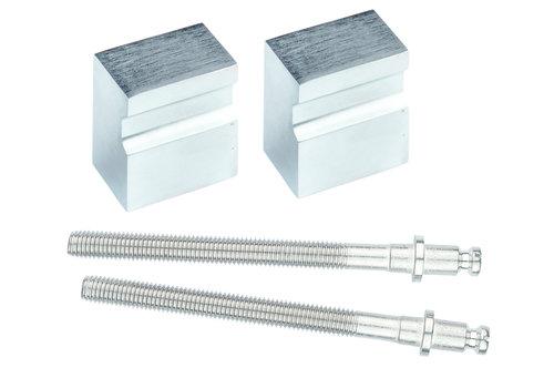 Fixed doorknob X-Treme cromsat pair for wood