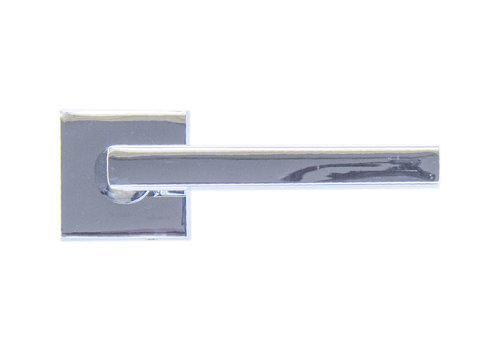 Deurklinken Luïs chrome zonder sleutelplaatjes