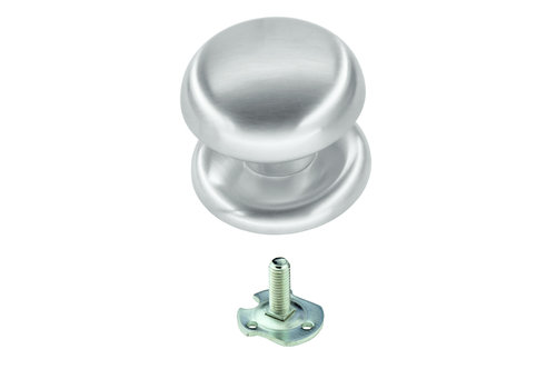 Fixed knob 'Top 805' stainless steel look