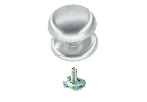 Vaste  knop 'Top 805' RVS look