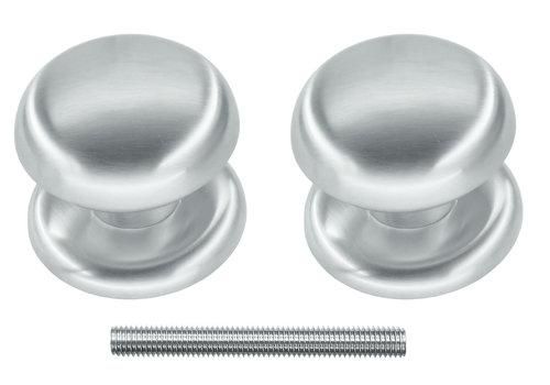 Fixed doorknob 'Top 805' pair for wood