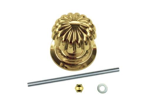 Fixed doorknob 'Top Mandarin' copper