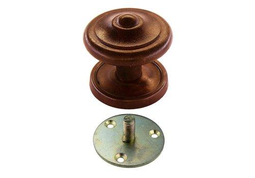 Poignée de porte fixe 'Top Round rust'
