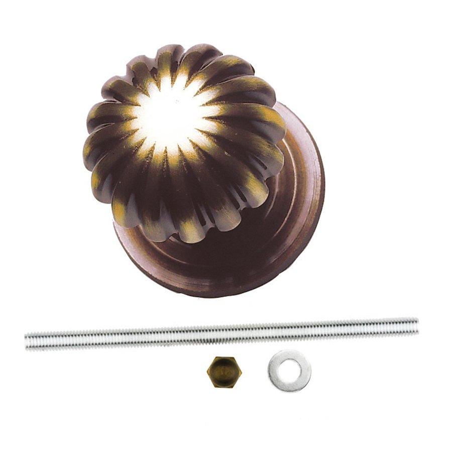 Vaste deurknop 'Top Mandarin' brons