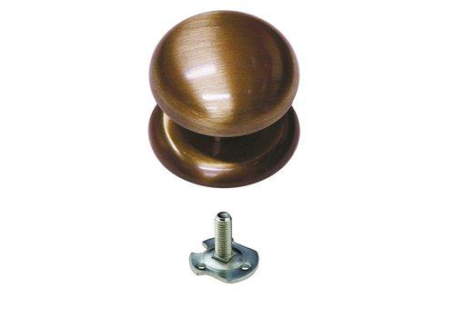 Vaste  knop 'Top 805' Brons