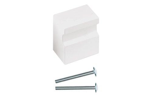 Vaste deurknop X-Treme wit