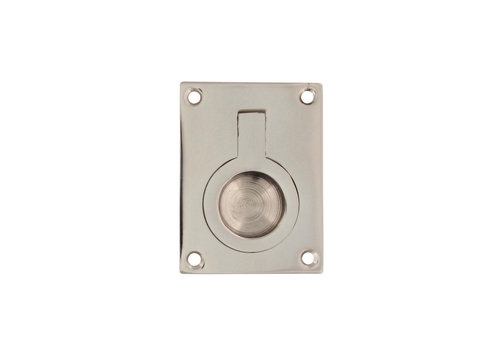 Intersteel Liege ring rectangular 65 x 49 mm nickel