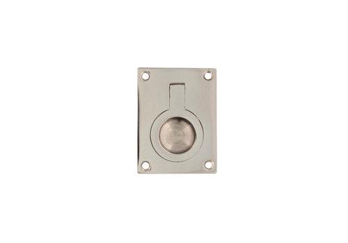 Intersteel Hatch ring rectangular 41 x 31 mm nickel