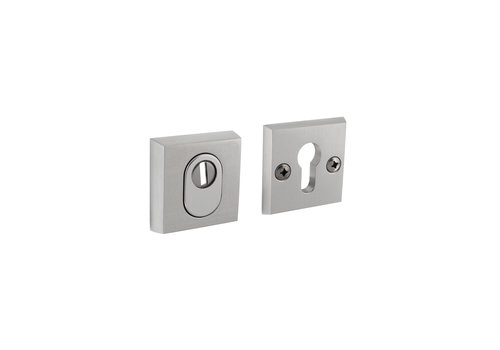 Aluminum safety rosette skg3 square with core pull protection