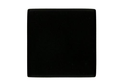 Blind rose square shape black