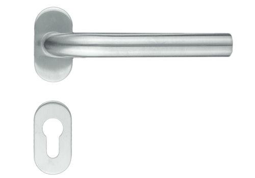 """Profil de poignées de porte en acier inoxydable """"L Shape"""" avec PZ"""