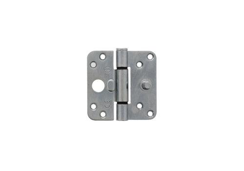 Intersteel Plain bearing hinge SKG3 89 x 89 x 3 mm DIN right/left galvanized