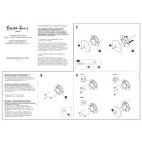 RVS WC garnituur met Lineair patroon van Buster & Punch