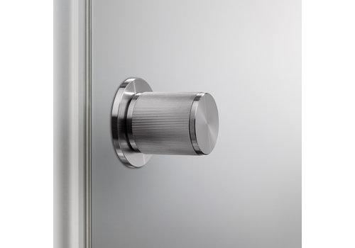Door knob / Linear / stainless steel