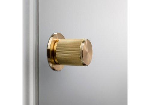 Doorknob / Linear / Brass