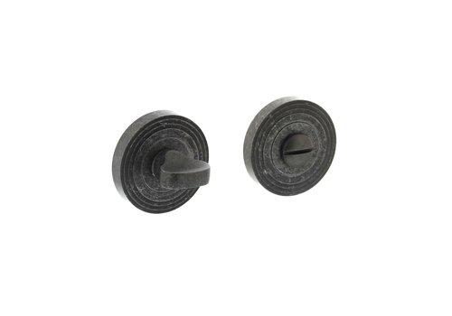 Intersteel Rozet met toilet-/badkamersluiting Ø55x10 mm oud grijs