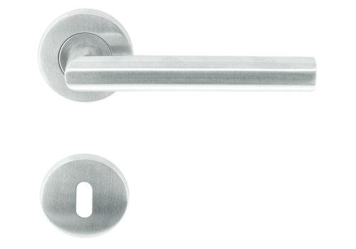 "stainless steel door handles roller shutter ""I shape"" with BB"
