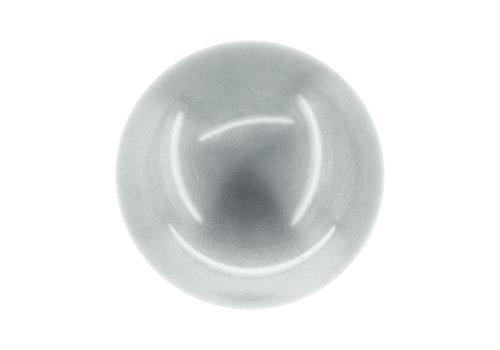 Door handles/door knobs Boccia stainless steel look without key plates