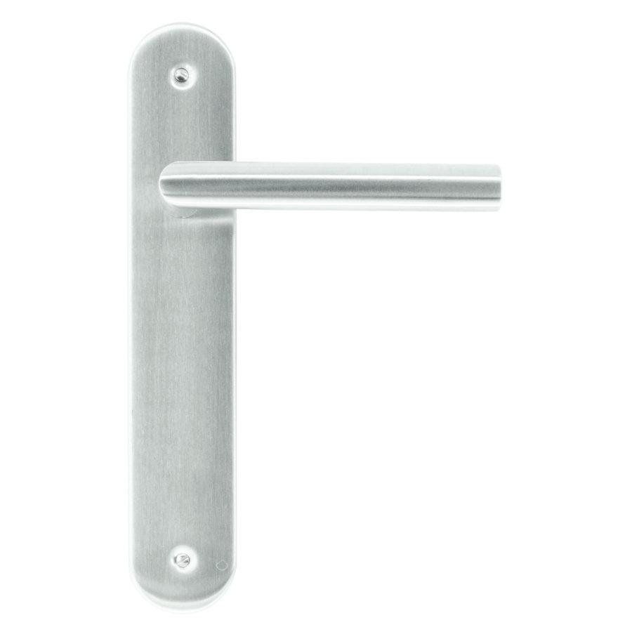 RVS deurklinken I shape op plaat