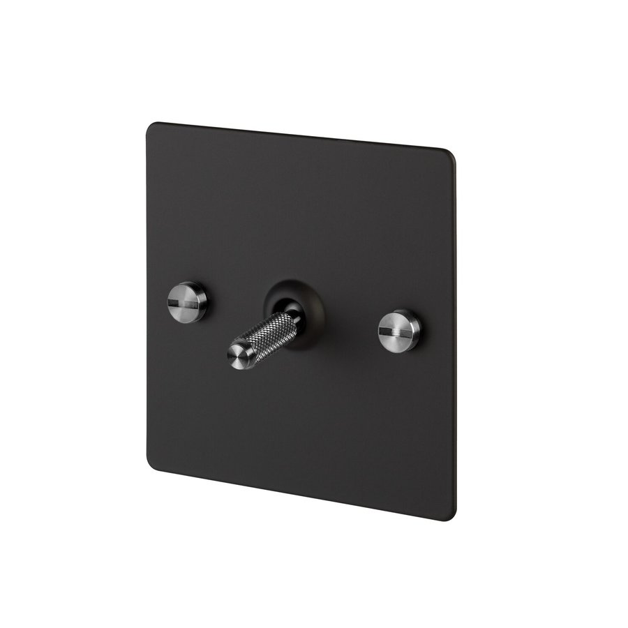 1G Toggle switch / Black / Buster+Punch