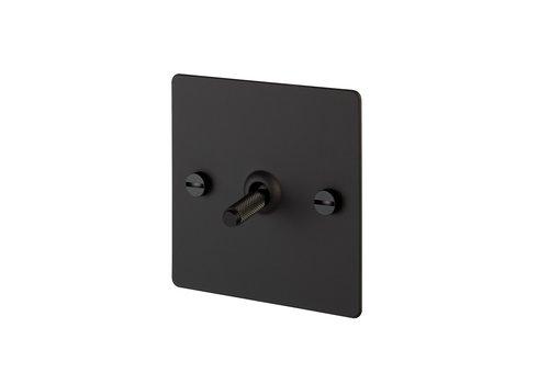 Interrupteur à bascule 1G / Noir