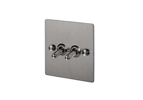 2G Toggle switch / Steel
