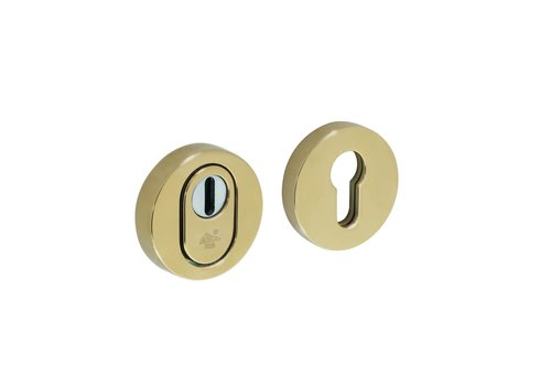 Intersteel Safety rosette SKG3 core pull protection brass titanium PVD