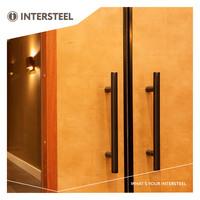 Intersteel Deurgreep T-model 20/500/700mm mat zwart