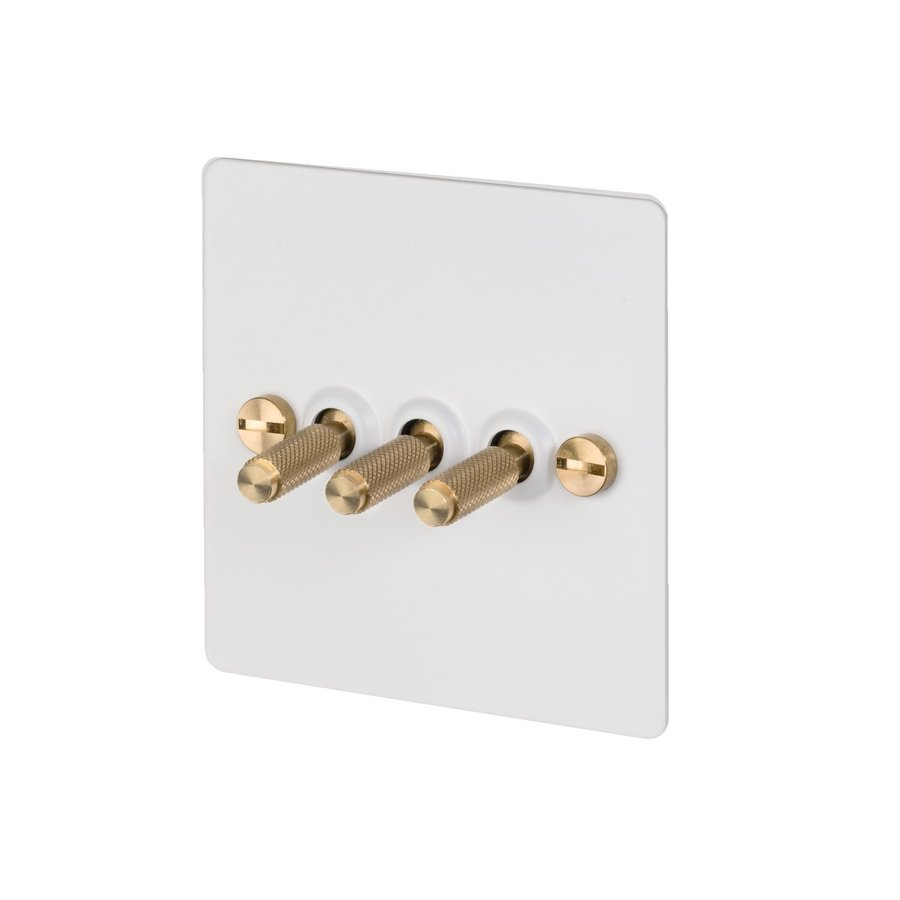 3G Toggle switch / White / Buster&Punch