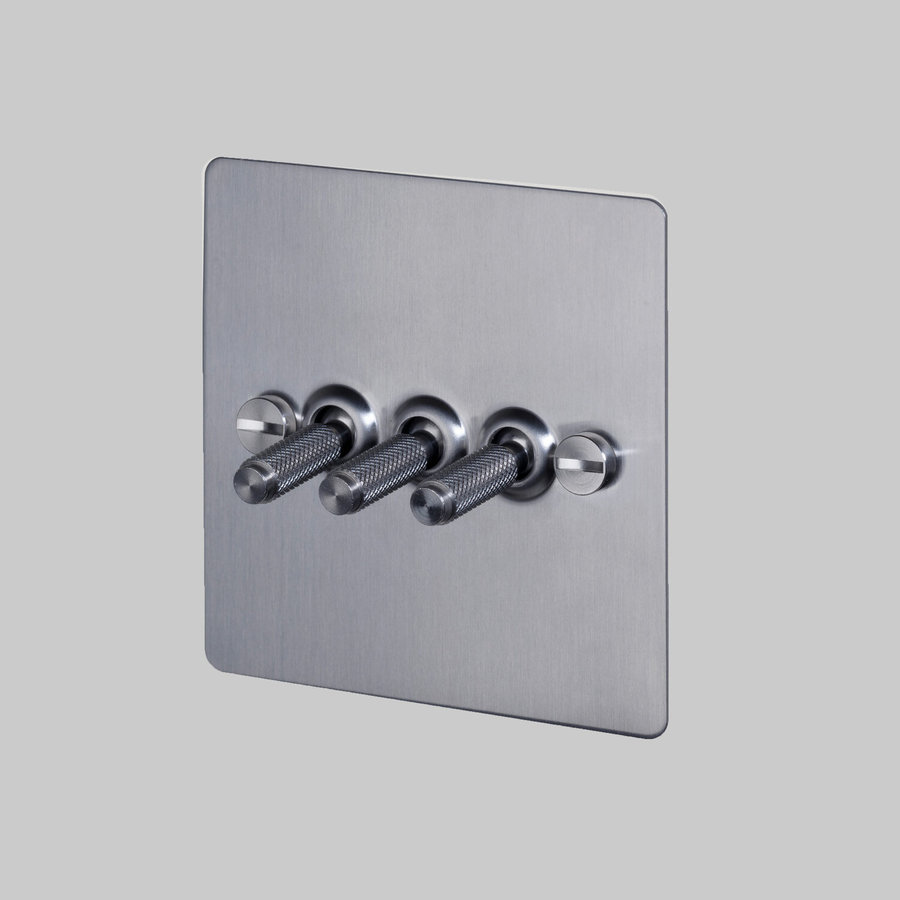 3G Toggle switch / Steel